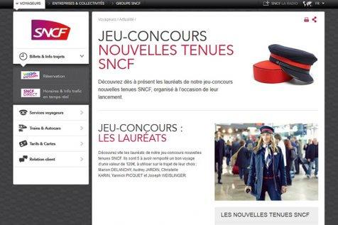 screen site sncf troispointzero