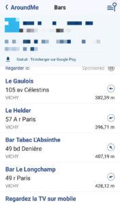 application mobile troispointzero