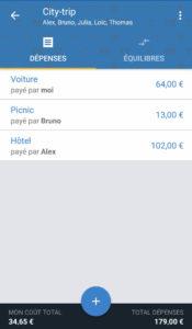 tricount - appli mobile troispointzero